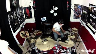 """The Walking Dead Soundtrack - Drum Cover with """"Zombie"""" COOP3RDRUMM3R! Bear McCreary"""