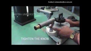 Experiment -Spectrometer (Diffraction Grating)