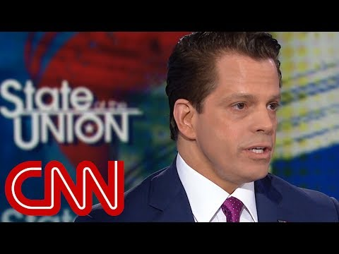 Scaramucci: Trump is being very presidential
