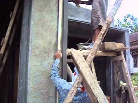 pengerjaan profil beton pilar minimalis - youtube