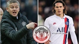 Man Utd urged to rectify two transfer mistakes by signing Edinson Cavani this month- transfer new...