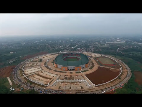 Pakansari Football Stadium - Indonesia, Drone DJI Phantom 4
