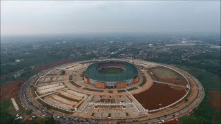pakansari football stadium indonesia drone dji phantom 4