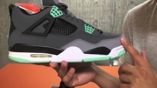 """看你老師球鞋介紹 - Air Jordan 4 """"Green Glow"""""""