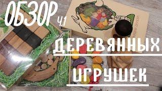 Обзор деревянных развивающих игрушек ч.1 | TrueFamilyGuys