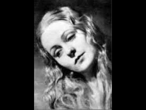 "Irène Joachim sings ""Am Sonntag Morgen"""