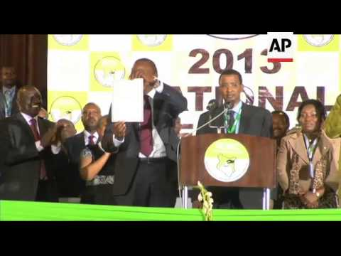 Kenya - Kenyatta wins Presidential Election