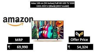 Intex 139 cm 55 Inches Full HD LED TV 5500 1321-3337-2 Black 2017 model