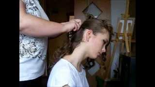 fryzura na studniówkę, wesele