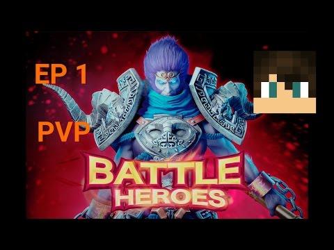 [Line battle heroes] PVP Past 1