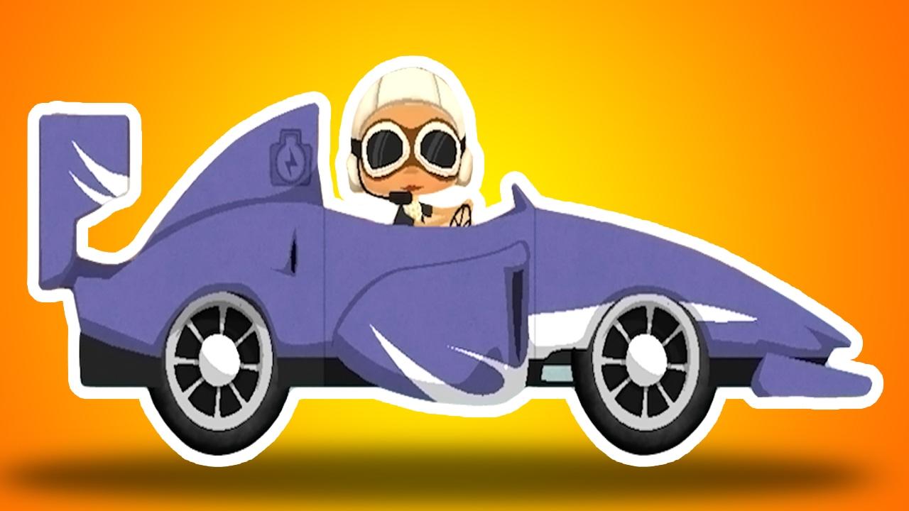 Dessin anim b b en fran ais ducatif voiture de course - Dessin anime de voiture de course ...