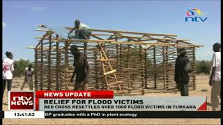 Red Cross resettles over 1000 flood victims in Turkana