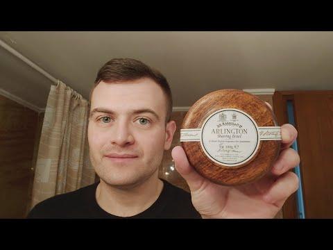 Dr. Harris Arlington shaving soap review