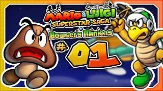 Mario & Luigi: Bowser's Minions - Part 1: The Untold Story! (3DS)
