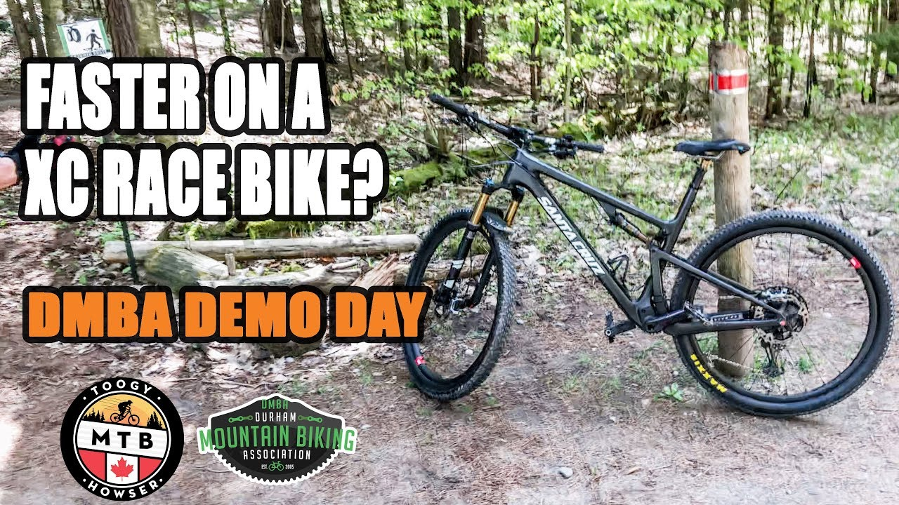 Faster on a XC Race Bike?? / DMBA Demo Day