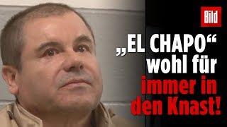 """Drogenboss """"El Chapo"""" bricht in Tränen aus"""