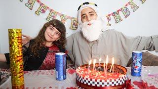 حفلة عيد ميلاد جدو !!🎂 !! happy birthday party