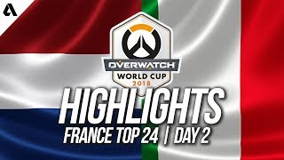 Italy vs Netherlands | Overwatch World Cup 2018 Paris Qualifier Day 2