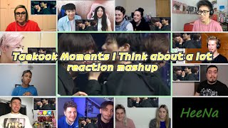 Download lagu [BTS] TAEKOOK moments i think about a lot|reaction mashup