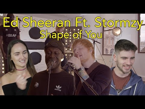 Ed Sheeran Shape Of You Remix Ft Stormzy  Head Spread  Reaction