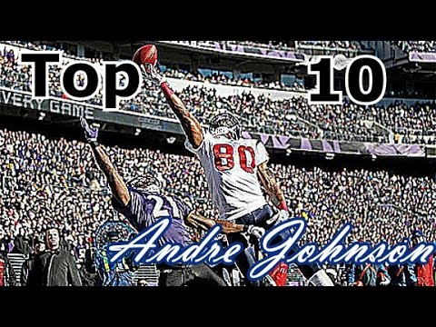 Andre Johnson Top 10 Plays of Career