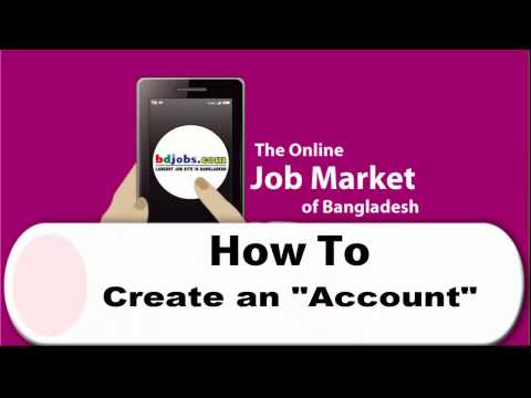 How To Create and Activate Bdjobs Account