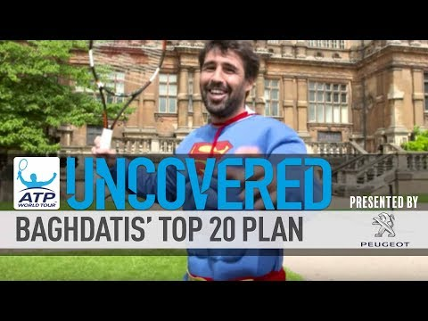 Baghdatis Working His Top 20 Plan Uncovered 2017