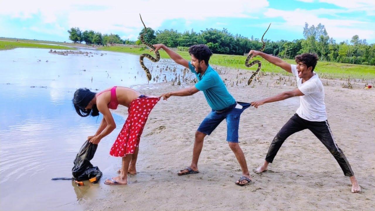 Funniest Comedy video 2021 Episode-89 amazing comedy video 2021 bindas fun bd