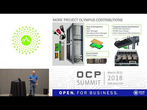 OCPUS18 –Project Olympus - Open Sourced Systems Available Today