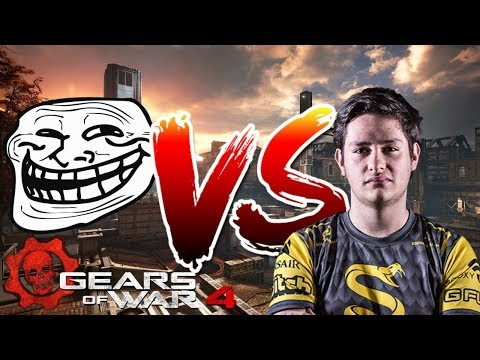 Gears of War 4: DomeZ vs Addvers (Funny Match)