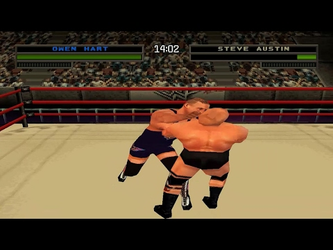 WWF/WWE Warzone - Challenge Mode With Owen Hart (PS1)