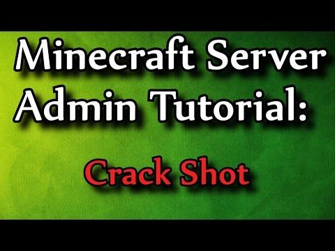 Minecraft Admin How-To: CrackShot (Guns)