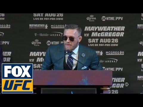 McGregor: I'm ready to 'break this old man' | FINAL PRESS CONFERENCE