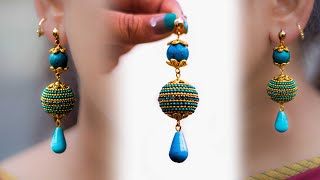 Pretty Girls Don't miss : Earring for Long earring lovers | Best for party-wear