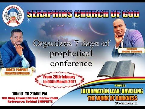 Conférence prophétique CAPE TOWN - Partie5