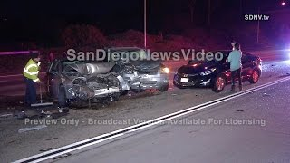 12-02 - 7-CAR PILE UP TRAFFIC COLLISION