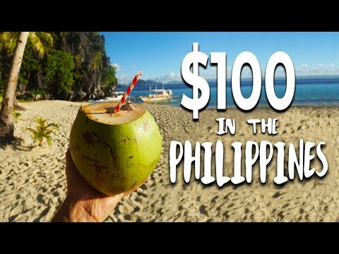 What Can $100 Get in the PHILIPPINES ??