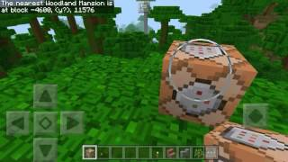 Minecraft PE: How To Find Woodland Mansion