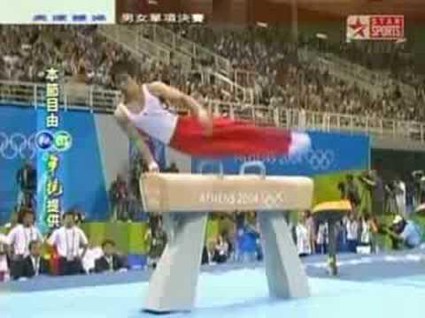 Hiroyuki Tomita-Atene 2004-Cavallo con Maniglie