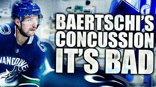 Sven Baertschi's Concussion Update - It's Really Bad (Vancouver Canucks Discussion) Baertschi Injury