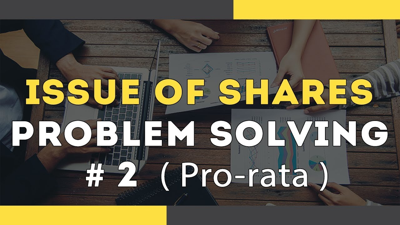 Download Issue of Shares - Pro rata Based | Company Accounts | Problem Solving 2  | Letstute Accountancy