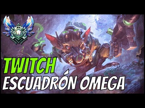 ► TWITCH ESCUADRÓN OMEGA vs LEE SIN JG [GUIA S7 en ESPAÑOL] - League of Legends