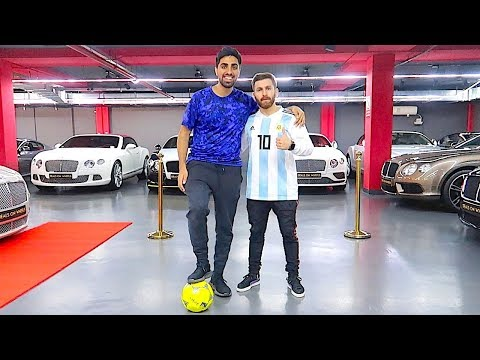 MEETING LIONEL MESSI  !!!