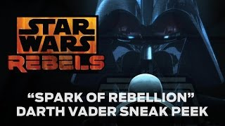 Darth Vader en Star Wars Rebels / La Chispa De La Rebelión (Español Latino)
