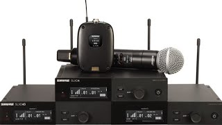 Shure Tech Talk: Lançamento SLX-D