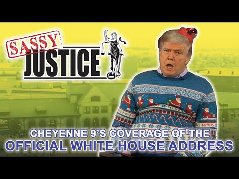 Grumpy President Reads a Christmas Story about a Lost Election