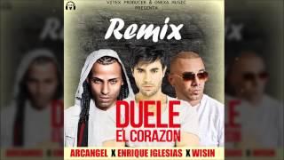 Duele El Corazon Remix   Enrique Iglesias Ft  Arcangel, Wisin  Exclusive Version360p