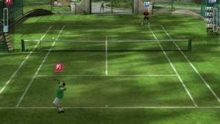 Top Spin 2 Gameplay - Nadal vs Federer (Grass)