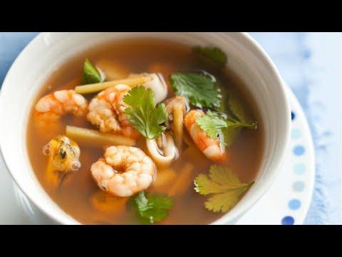 recette-:-soupe-tom-yum-aux-fruits-de-mer
