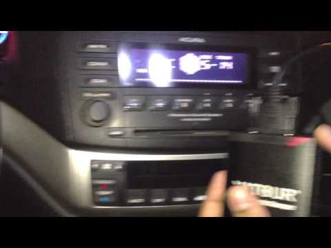 Yatour Digital Music Changer  Installation 2004 Acura TSX